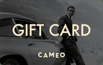 Cameo E-Gift Card - James Bond