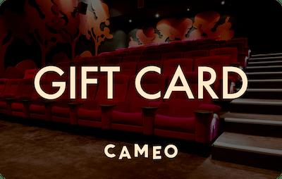 Cameo E-Gift Card - Cinema