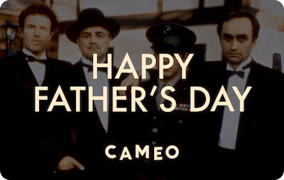 Cameo E-Gift Card - The Godfather (Father's Day)