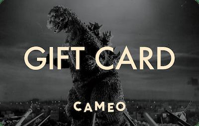Cameo E-Gift Card - Godzilla