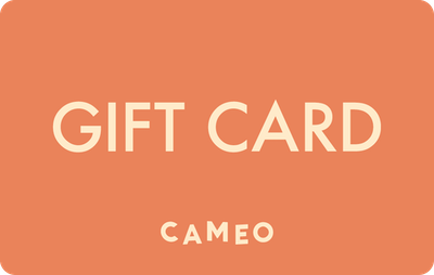 Cameo E-Gift Card - Orange