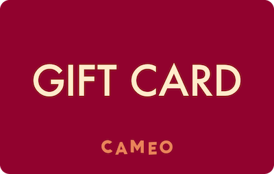 Cameo E-Gift Card - Red