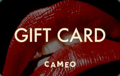 Cameo E-Gift Card - Rocky Horror