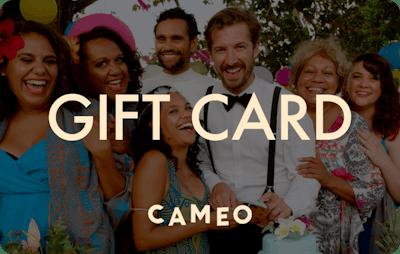 Cameo E-Gift Card - Top End Wedding
