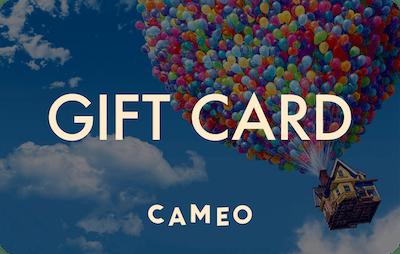 Cameo E-Gift Card - Up