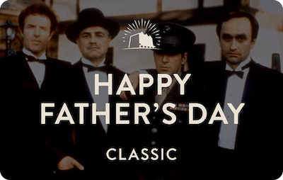 Classic E-Gift Card - The Godfather (Father's Day)