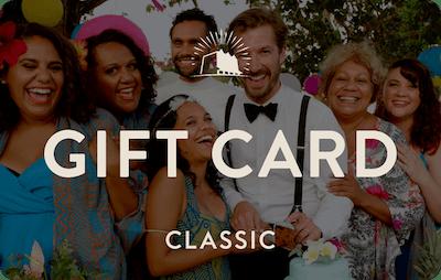 Classic E-Gift Card - Top End Wedding
