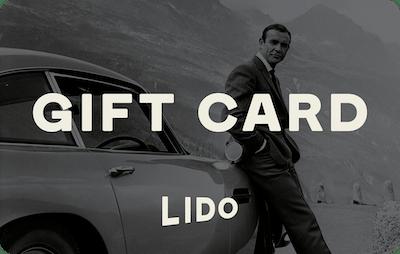 Lido E-Gift Card - James Bond