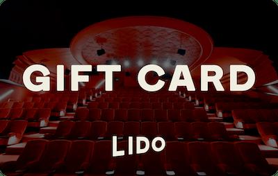 Lido E-Gift Card - Cinema