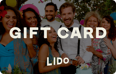 Lido E-Gift Card - Top End Wedding