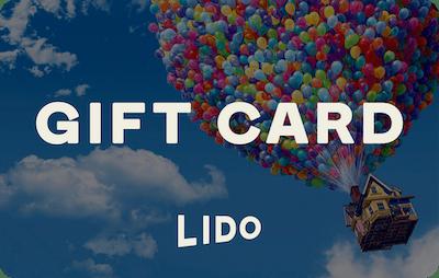 Lido E-Gift Card - Up