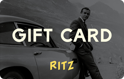Ritz E-Gift Card - James Bond