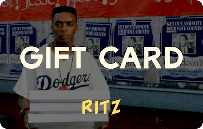 Ritz E-Gift Card - Do The Right Thing