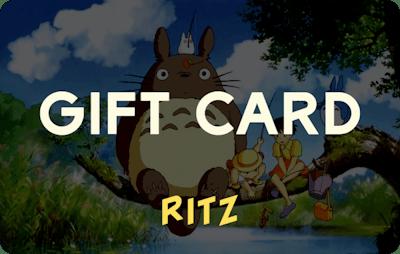 Ritz E-Gift Card - My Neighbour Totoro